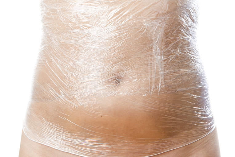 giảm mỡ bụng bằng màng nilon