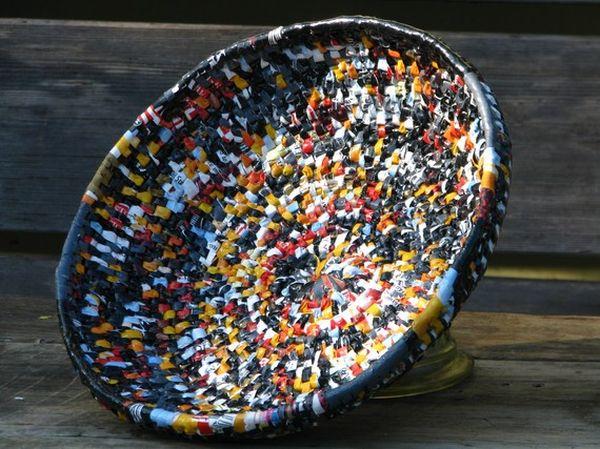 tái chế túi nilon - đồ gia đình