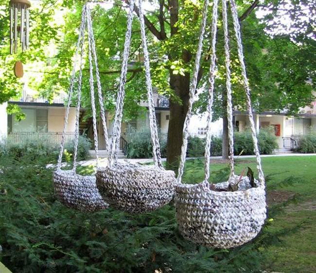 tái chế túi nilon - túi chống nước