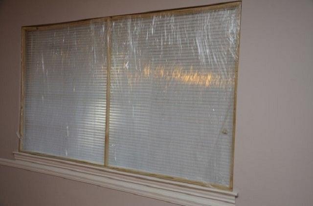 ứng dụng màng pe bọc cửa sổ