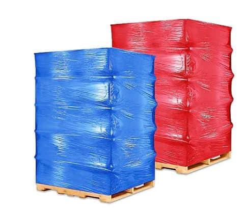 pallet được quấn cố định chống đổ vỡ hàng hóa